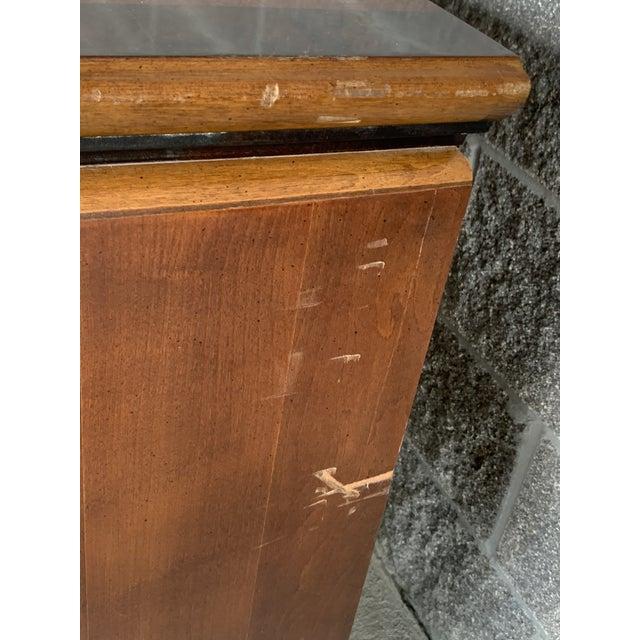 Chinoiserie Vintage Oriental Nine Drawer Dresser For Sale - Image 3 of 13