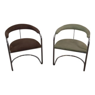 Anton Lorenz for Thonet SS33 Cantilever Chairs - A Pair