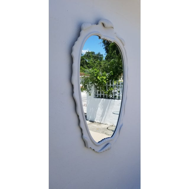 For your consideration we are presenting for sale a Italian Hollywood Regency Dorothy Draper style decorative wall mirror....