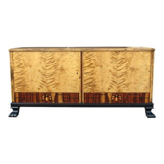 Swedish Art Deco Rosewood Sideboard Circa 1930 For Sale