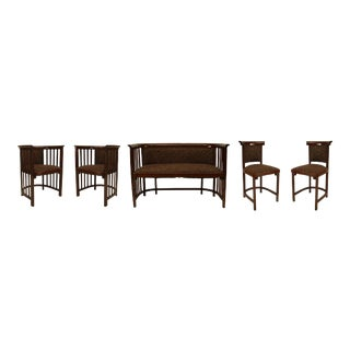 Bentwood Secessionist Living Room Set - 5 Piece Set For Sale