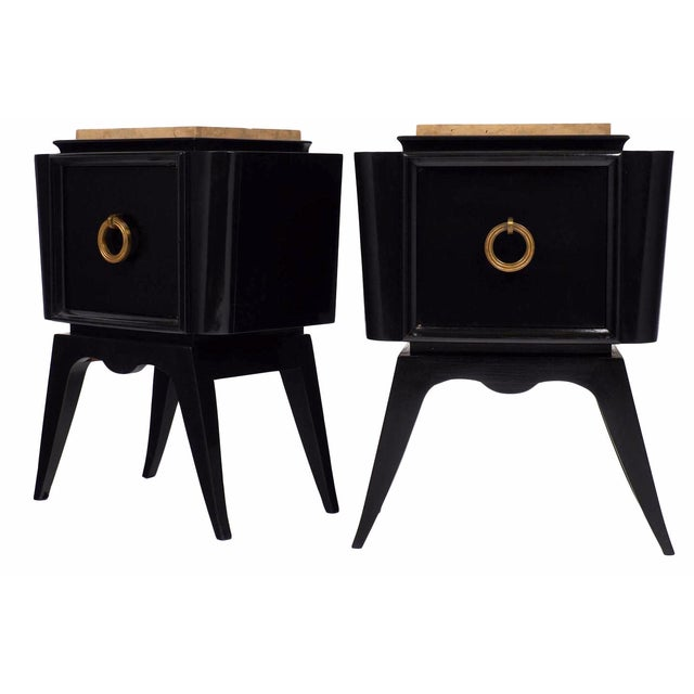 André Arbus-Style Art Deco Nightstands - A Pair - Image 1 of 10