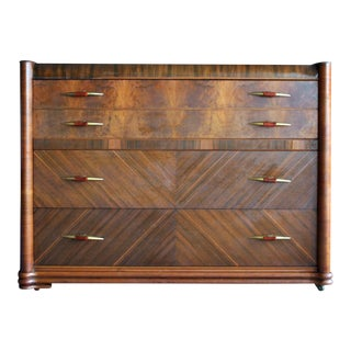 Art Deco Streamlined Machine Age Dresser For Sale