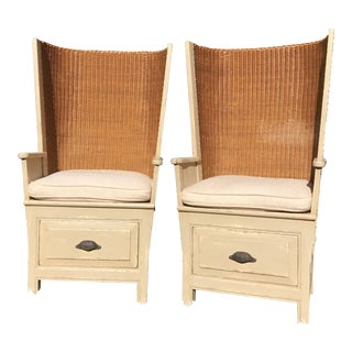 Richard Mulligan Orkney Chairs - A Pair For Sale