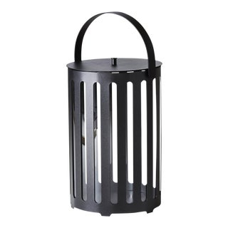 Cane-Line Lighttube Lantern Large, Round For Sale