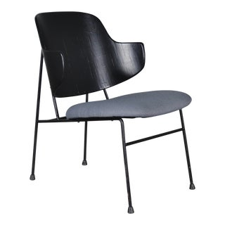 Vintage Mid Century Ib Kofod-Larsen Danish Modern 'Penguin' Chair For Sale