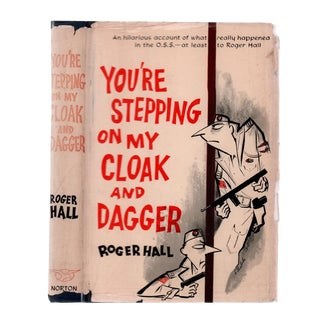 "1957 ""You're Stepping on My Cloak and Dagger, 1st Edition"" Collectible Book For Sale"