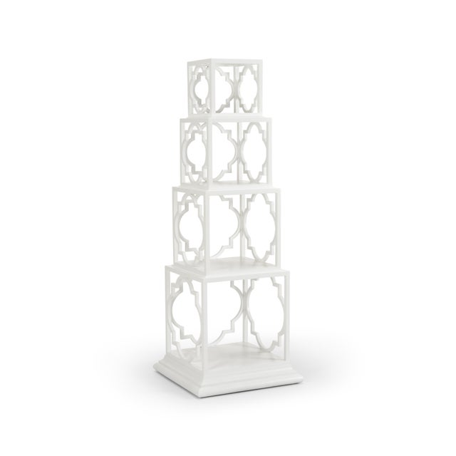 Quadro Etagere, White For Sale In Raleigh - Image 6 of 6