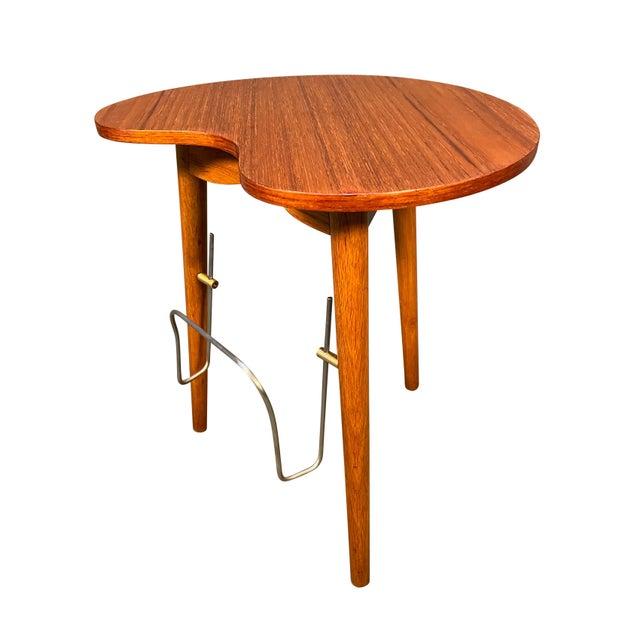 """Vintage Danish Mid Century Modern """"Gorm"""" Side Table by Edmund Jørgensen For Sale - Image 9 of 9"""