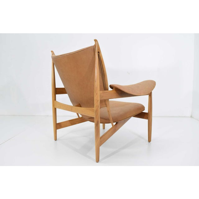 Finn Juhl Chieftain Chair and Ottoman by Baker For Sale In Dallas - Image 6 of 13