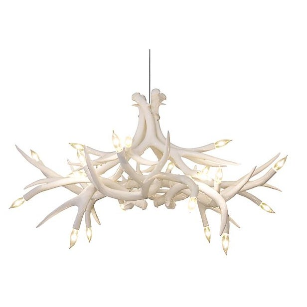 Design within reach antler chandelier chairish design within reach antler chandelier mozeypictures Image collections