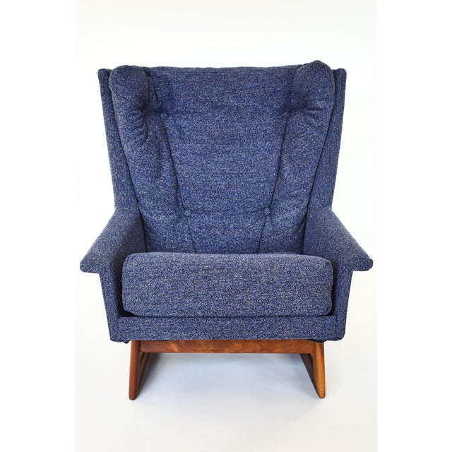 This is a very rare design by Adrian Pearsall for Craft Associates. A super comfortable chair that you won't want to get...