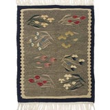 Image of Floral Motif Romanian Kilim | Flatweave 1'10 X 2'4 For Sale