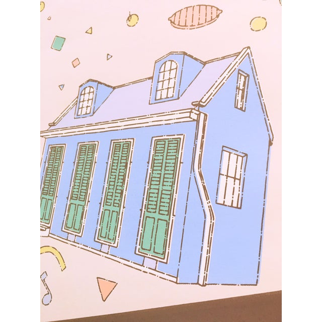 """Vintage """"French Quarter Festival 84"""" Lithographic Poster - Image 11 of 11"""