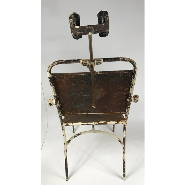 Antique Medical Exam Chair For Sale In Philadelphia - Image 6 of 6