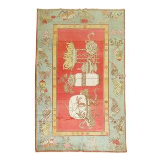 Antique Khotan Samarkand Rug, 5'11'' X 9'7'' For Sale