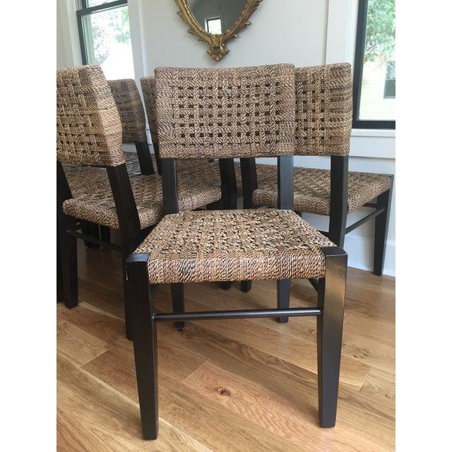 Palecek Panamawood Dining Chair - Set of 8 - Image 5 of 9