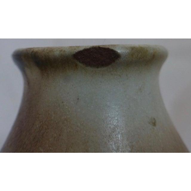 Gotek Pottery Colonia Tovar Venezuela Studio Signed Bud Vase For Sale - Image 4 of 13