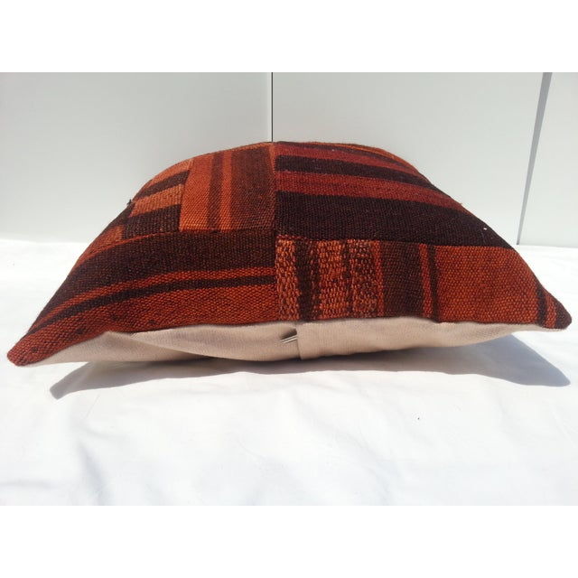 Handwoven Turkish Pillow Cover For Sale - Image 5 of 6