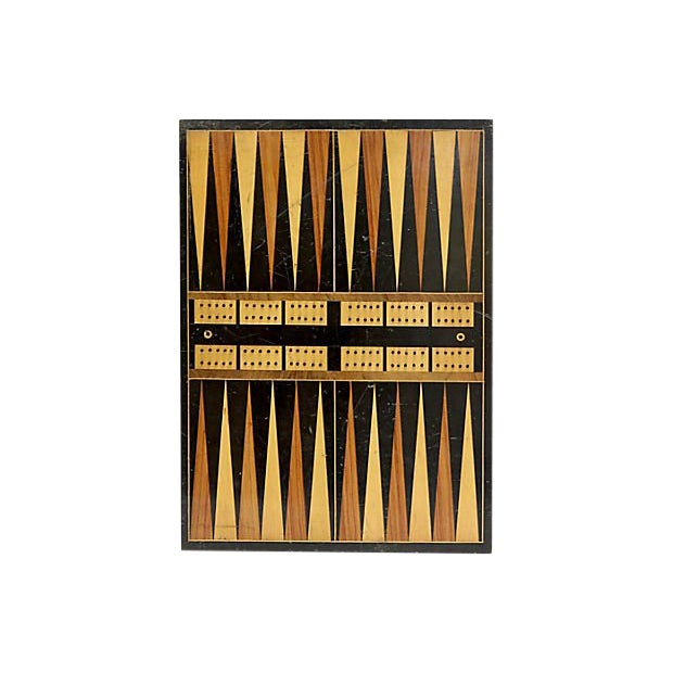 Antique Checker/Backgammon Board For Sale