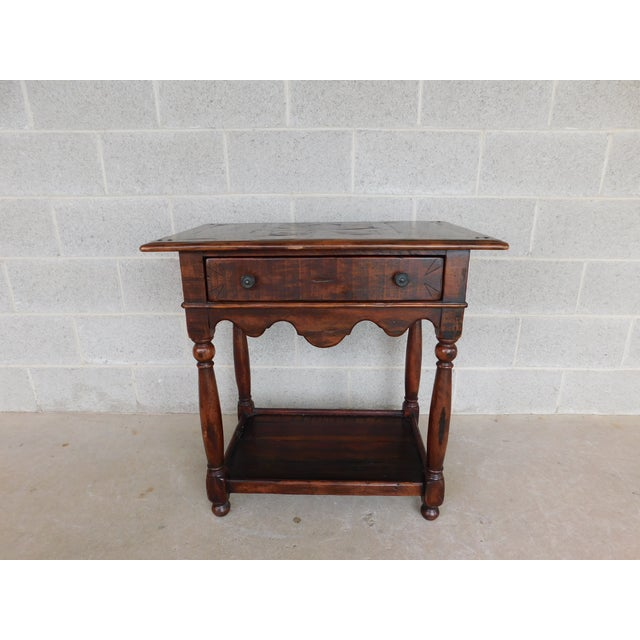Theodore Alexander Castle Bromwich Collection 1 Drawer Accent Table For Sale - Image 12 of 12