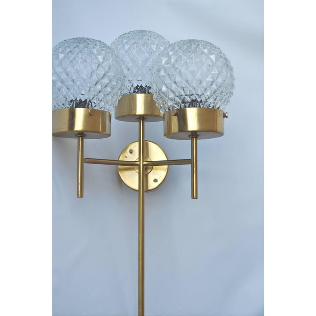 Metal Large and Rare Pair of Wall Lights by Hans-Agne Jakobsson For Sale - Image 7 of 11