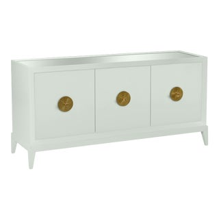 Casa Cosima Hayes Sideboard, Gray Cashmere For Sale