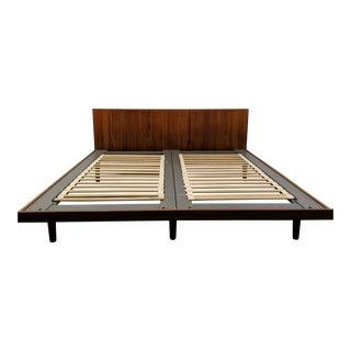 Hans Wegner European Queen Size Bed For Sale