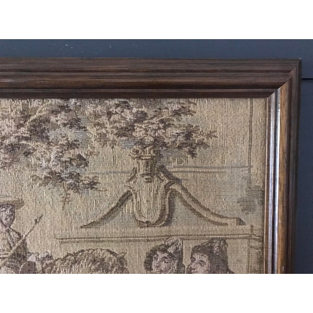 Framed Vintage Tapestry - Image 3 of 5