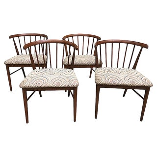Mid Century Modern Dining Chairs, S/4 For Sale