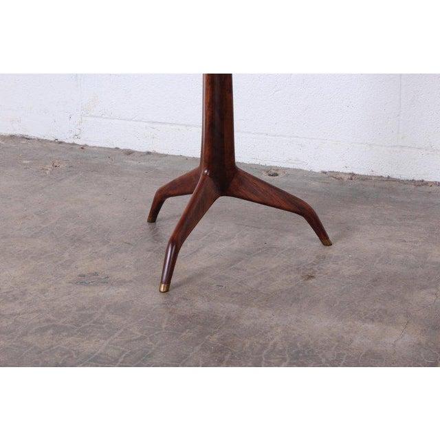 Dunbar Furniture Edward Wormley Dunbar Janus Side Table With Natzler Tiles For Sale - Image 4 of 13