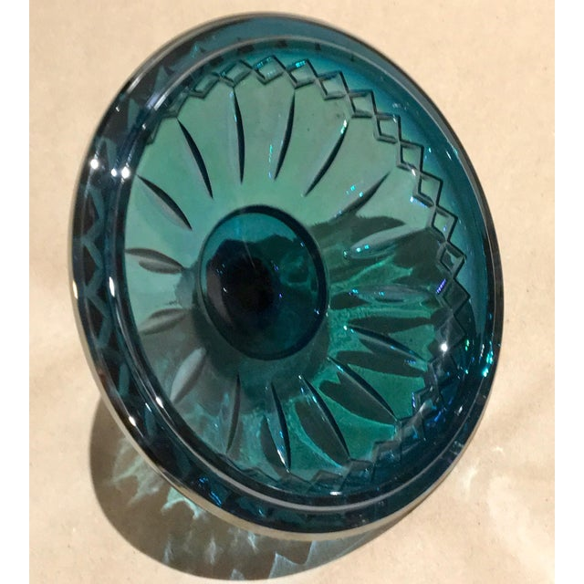Indiana Glass Co. Mid-Century Carnival Glass Candy Dish - Image 8 of 8