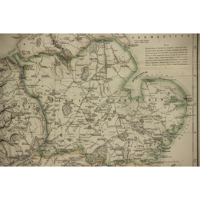 Britannia Map by Edw. Weller For Sale - Image 4 of 8