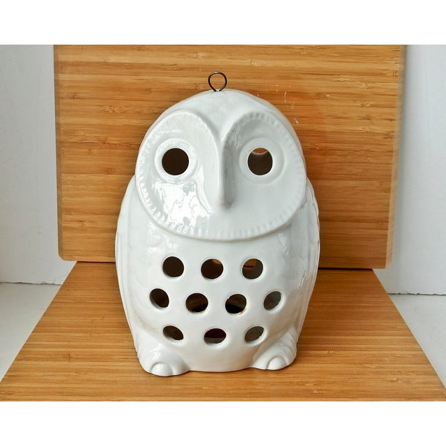 Vintage Owl Lantern Candle Holder - Image 5 of 6