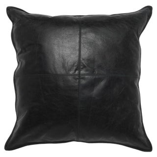 Contemporary Leather Onyx Pillow For Sale