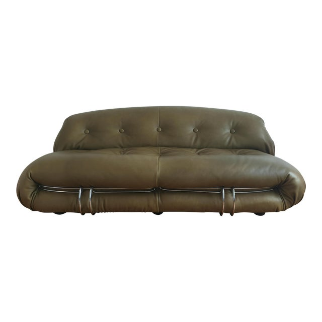 1970s Soriana Sofa by Afra & Tobia Scarpa for Cassina For Sale