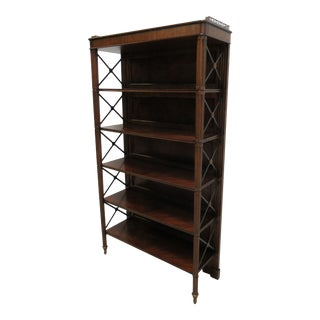 Maitland Smith Regency George IV Etagere Bookcase For Sale