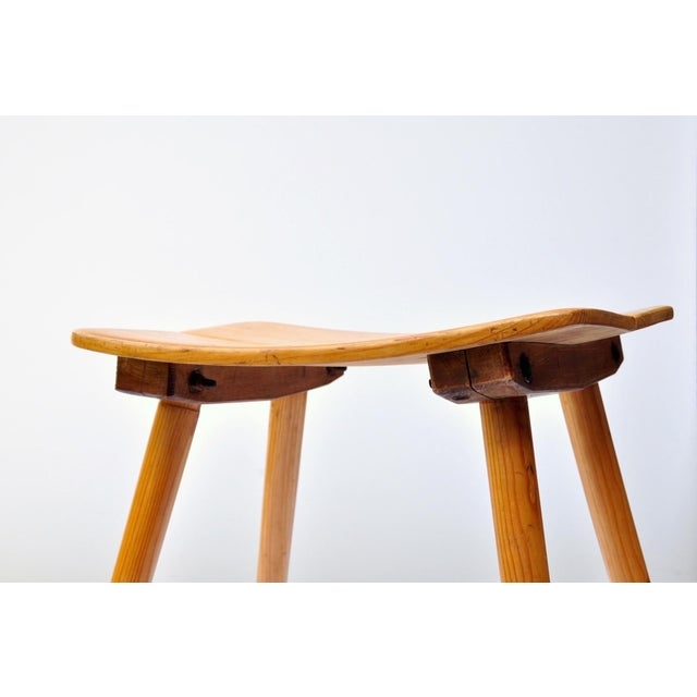 Jacob Muller Stool for Wohnhilfe, Switerland 1950s For Sale In New York - Image 6 of 7