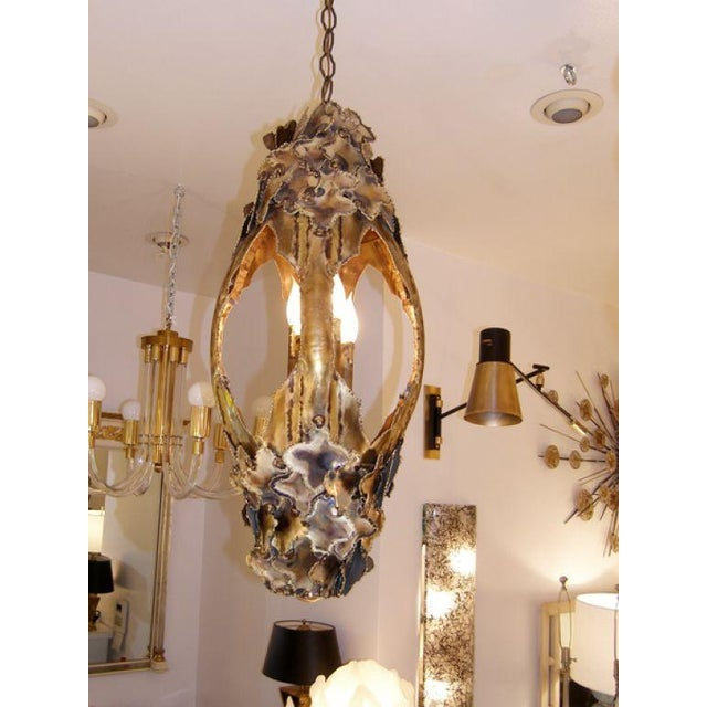 T.A. Greene Chandelier For Sale In New York - Image 6 of 9