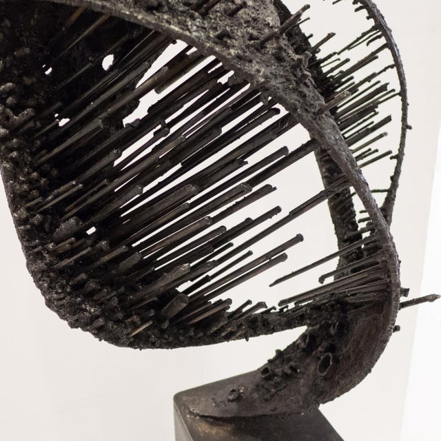 "Metal James Bearden Sculpture ""Passage"" For Sale - Image 7 of 9"