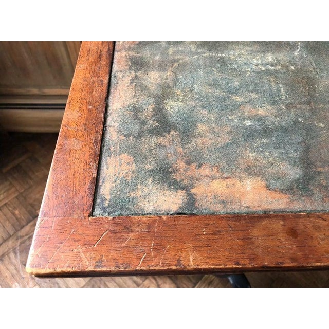 Antique Industrial Adjustable Cast Iron Drafting Table / Desk For Sale In Chicago - Image 6 of 11