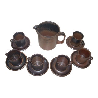 Arabia Ruska Demitasse - Set of 13 For Sale