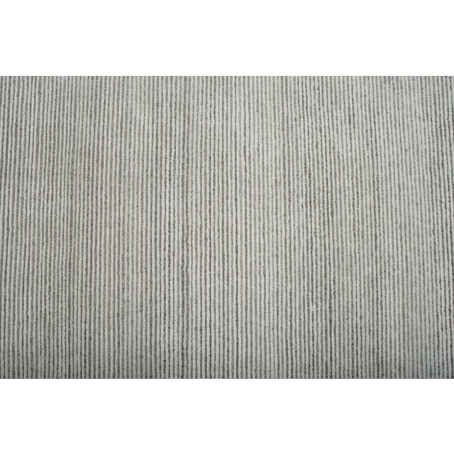 Stark Studio Rugs Stark Studio Rugs Contemporary Oriental Bamboo Silk and Wool Rug - 6' X 9' For Sale - Image 4 of 5