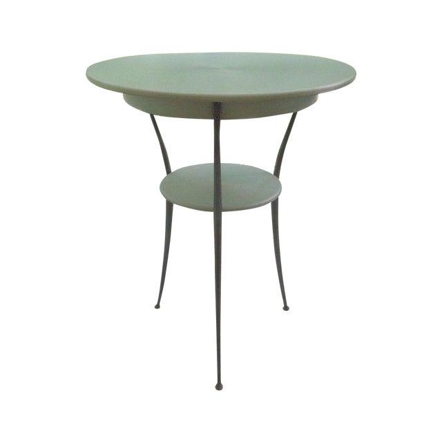 Mid Century Italian Arper Aluminum Table - Image 1 of 10