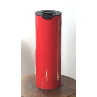 1970s Erik Magnussen for Stelton Danish Modern Red & Black Insulated Carafe Preview