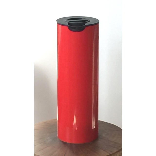 Designed by Erik Magnussen for Stelton, Denmark in the 1970s. This is the difficult to find red version of the iconic...