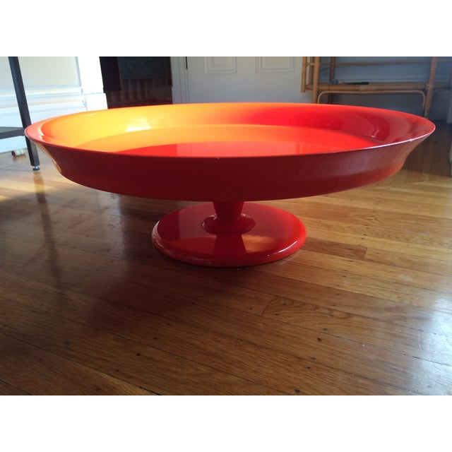 Serena & Lily Flame Pedestal Tray - Image 2 of 10