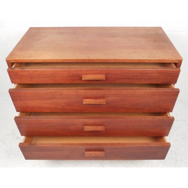 Jens Risom Style Mid-Century Chest of Drawers For Sale - Image 5 of 10
