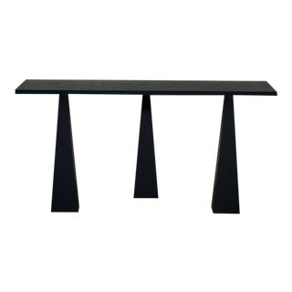 Nylander Solid Oak Console Table For Sale