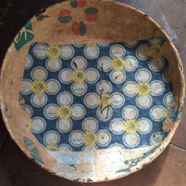 Antique Japanese Mushroom Picking Basket - Image 2 of 7
